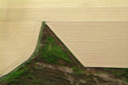 In cima del campo con vento da sinistra, Mark Cooper